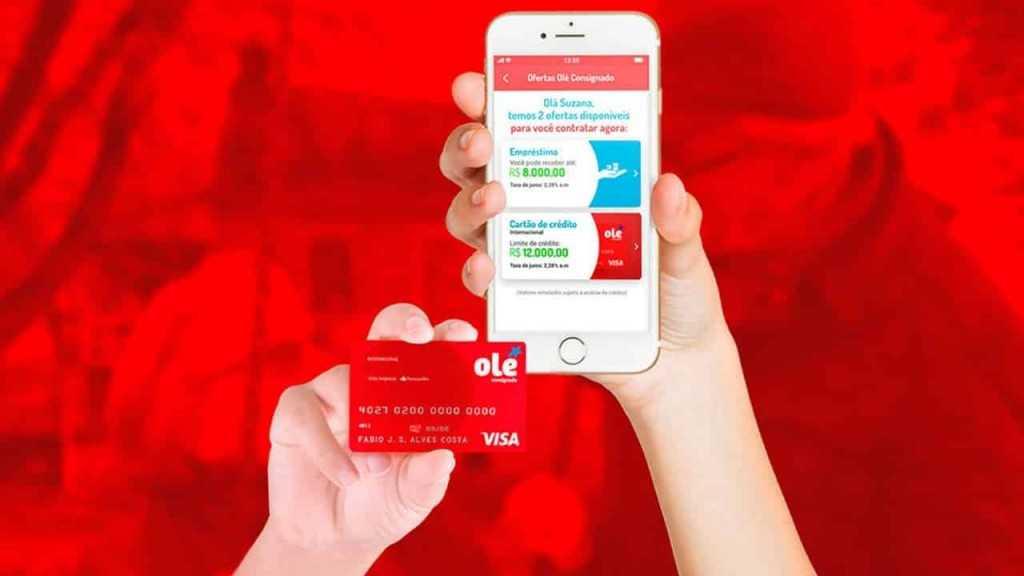 Famoso Cartão de crédito Olé