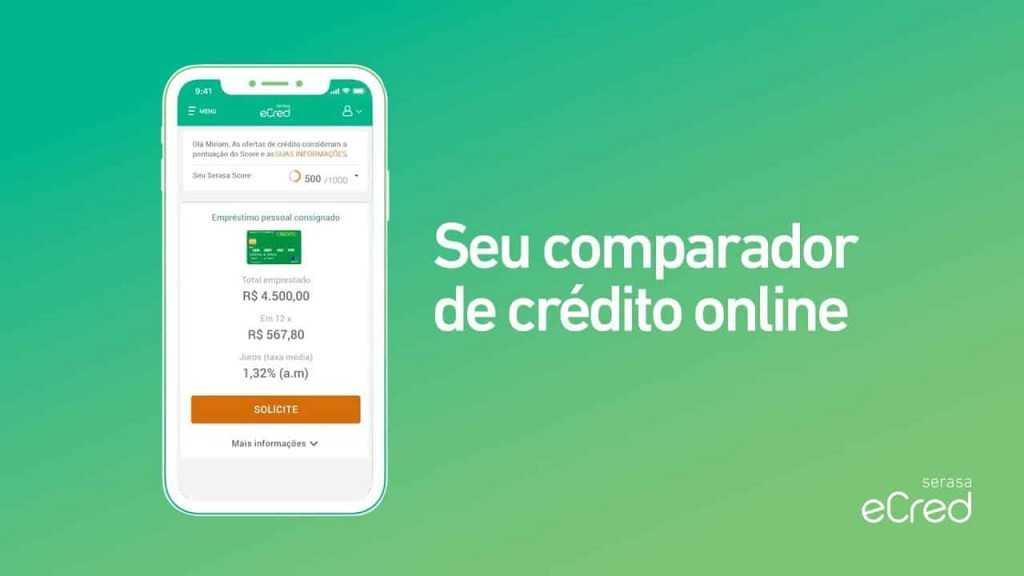 Como funciona o Serasa empréstimos eCred