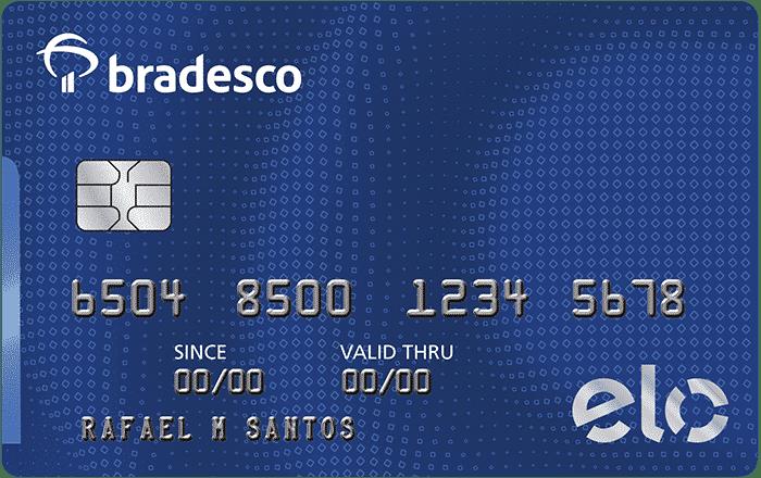 O cartão de crédito Elo Internacional Bradesco possui anuidade
