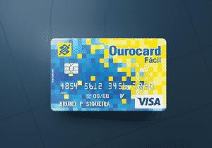 Cartão de crédito Banco do Brasil Ourocard Fácil