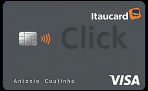 Cartão de crédito Itaucard Click