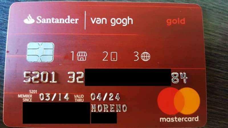Cartões Santander