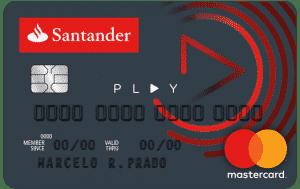 Cartão play Santander, fatura cartão santander