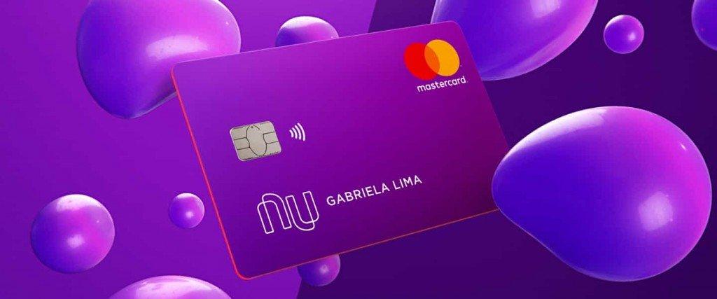 cartão de crédito e a conta digital Nubank