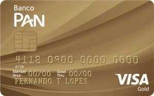 Cartão Gold Banco Pan