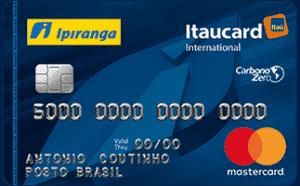 Cartão Itaú Ipiranga