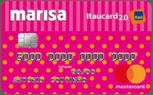 Cartão Itaú Marisa