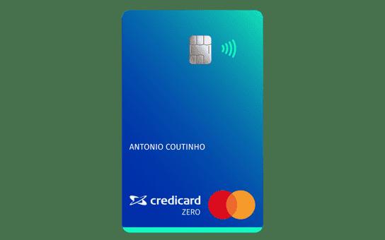 Credicard Zero vantagens do cartão sem anuidade
