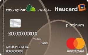 Itaucard Pão de Açúcar Mastercard Platinum