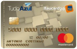 Itaucard TudoAzul Mastercard Internacional e Visa Internacional
