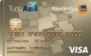 Itaucard TudoAzul Visa Internacional