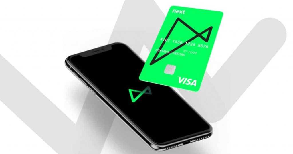 Next vantagens do cartão sem anuidade