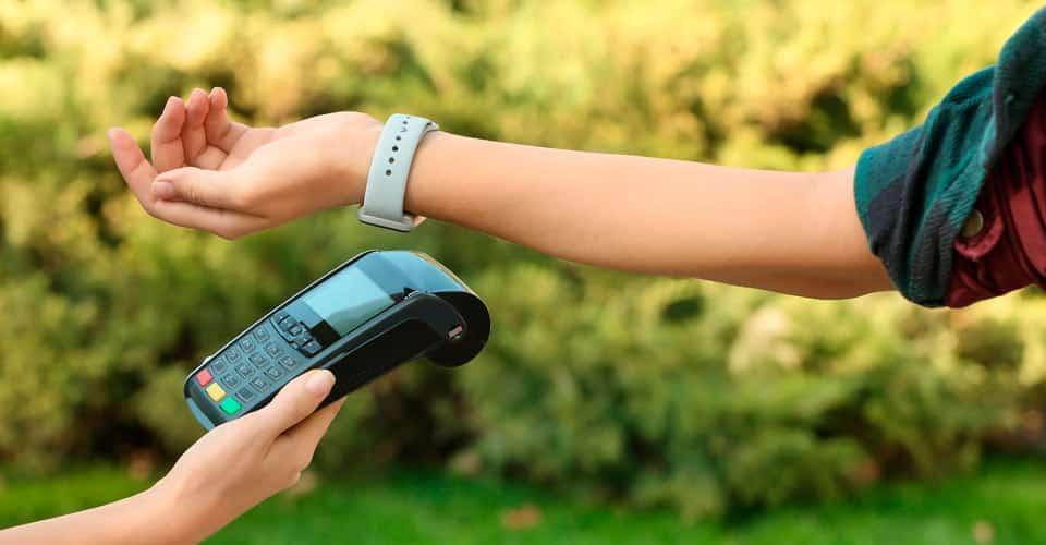 Realizar pagamento por aproximação com pulseira
