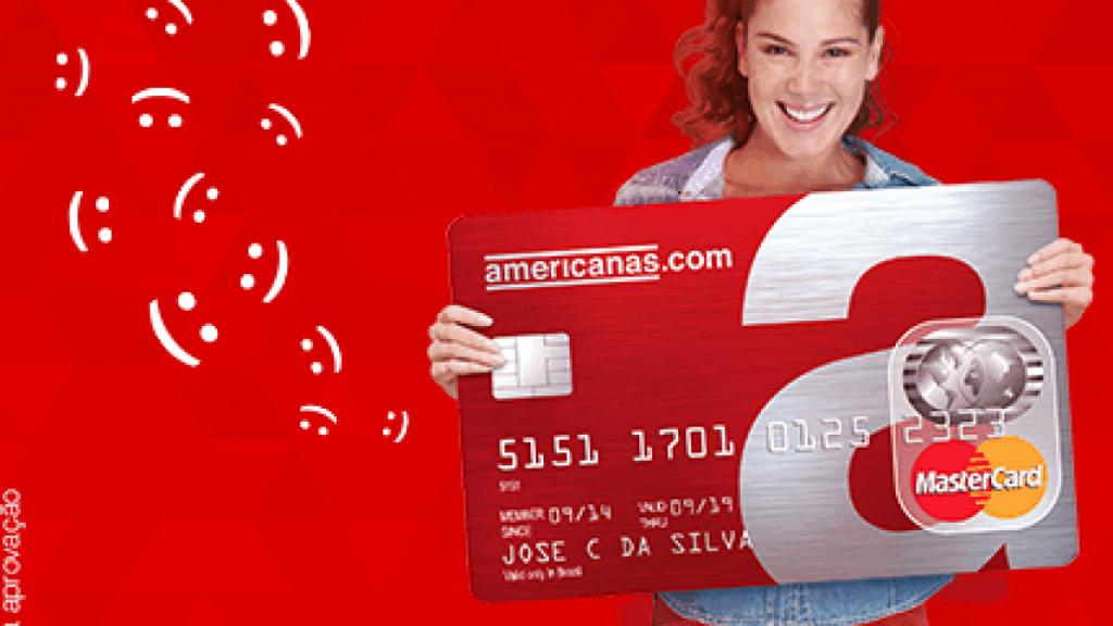 Cartão de crédito pré-pago internacional lojas americanas