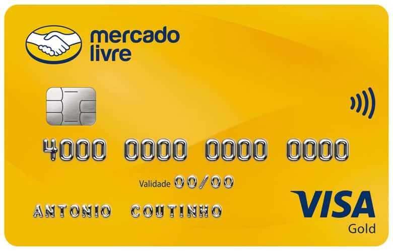 Cartão Mercado Livre Visa Gold