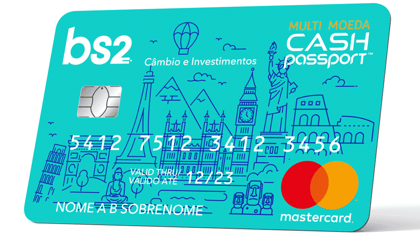 Cartão Multimoeda vantagens cartão BS2