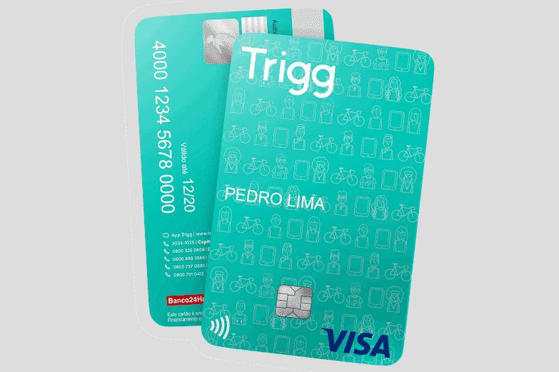 Cartão de crédito Trigg para negativado