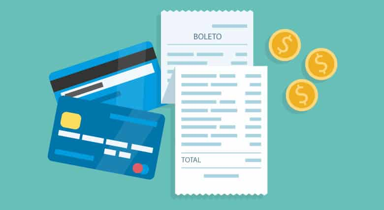 Como funciona pagar uma conta com cartão de crédito pelo app?