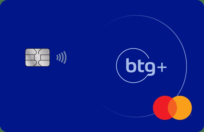 Cartão BTG+ Mastercard Gold
