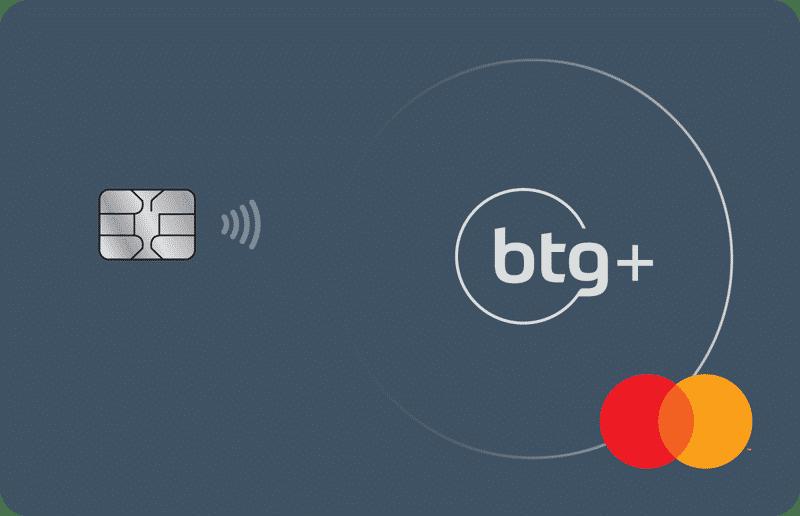 Cartão BTG+ Mastercard Platinum