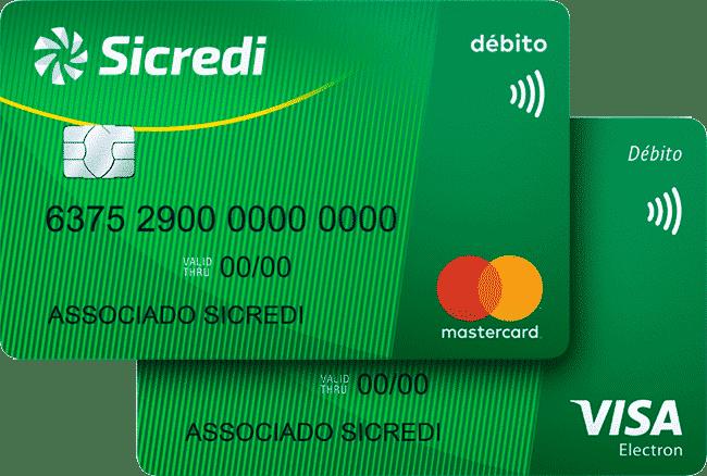 cartão de crédito sicredi Débito