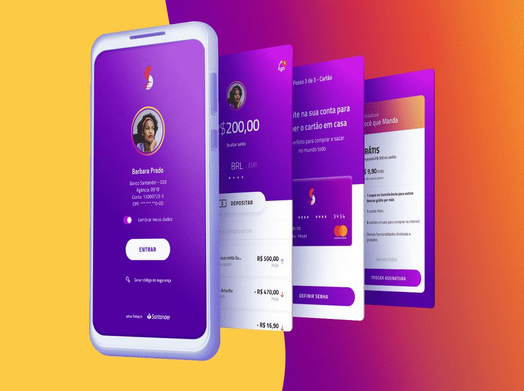 Aplicativos para abrir um conta Superdigital
