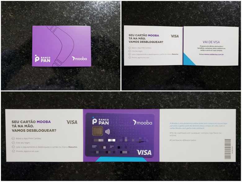 Apresentamos o Kit Boas-vindas do cartão de crédito Mooba