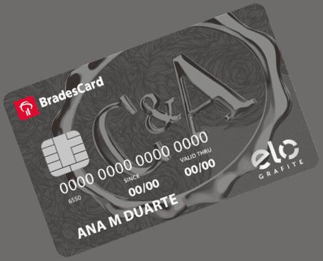 C&A Elo Grafite Limite cartão de crédito
