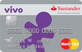 Cartão VIVO Santander