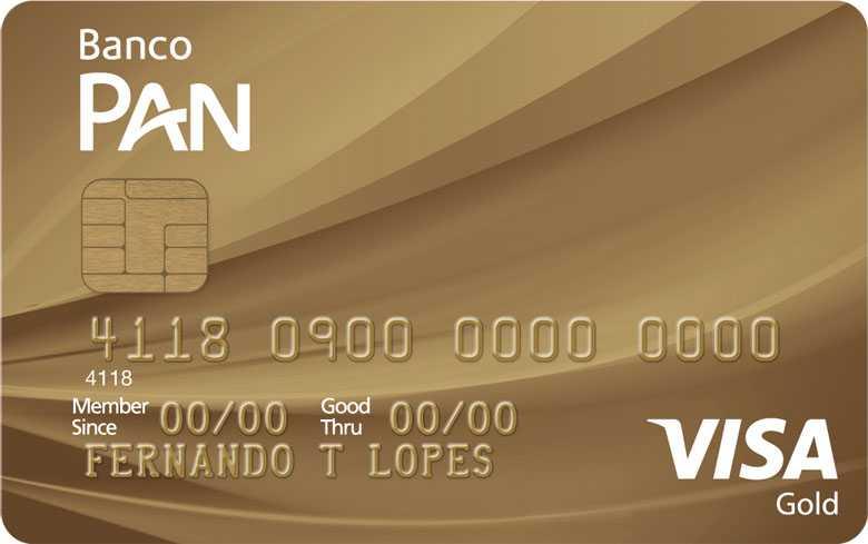 Cartão de crédito PAN Gold