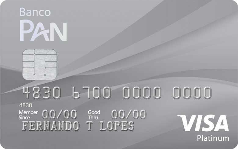 Cartão de crédito PAN Platinum