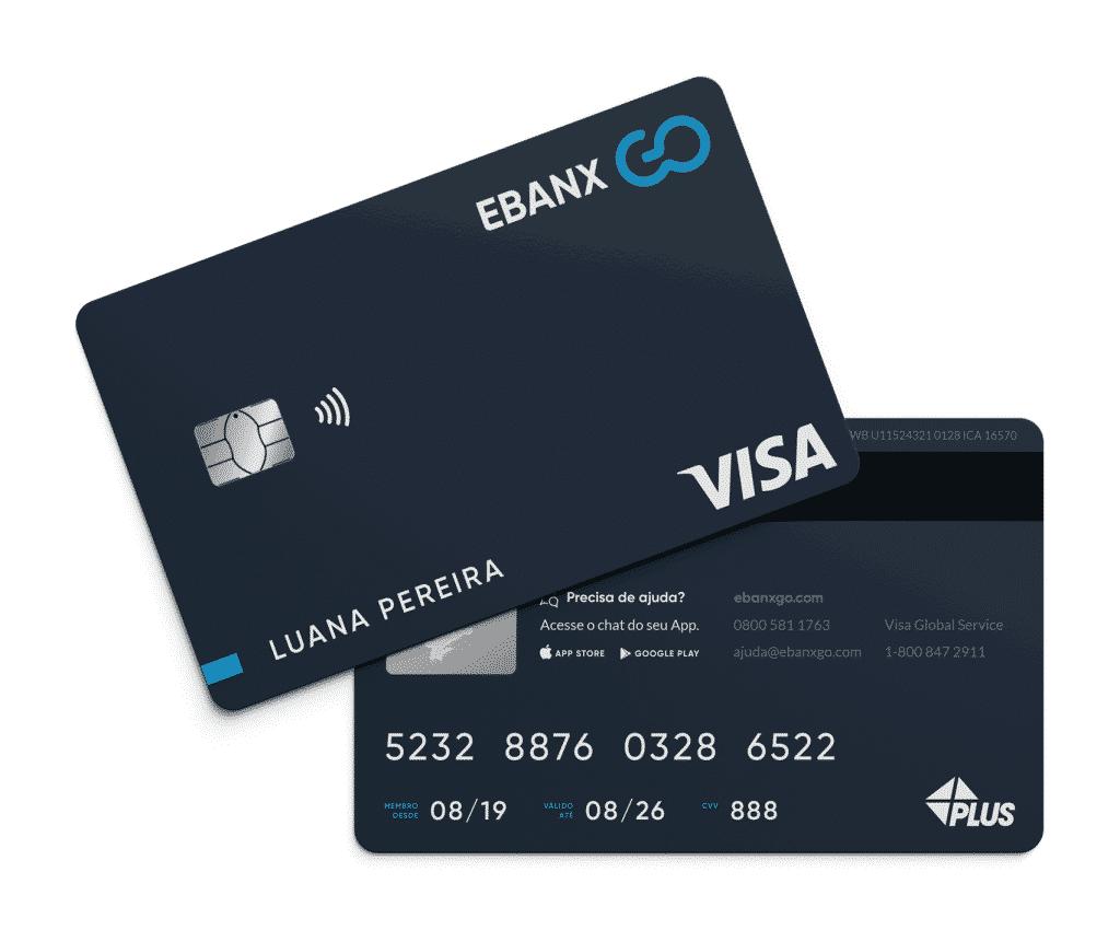 Ebanx GO cartão