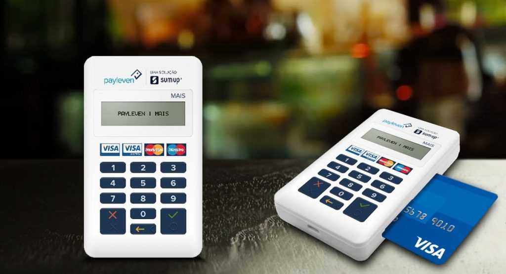 Payleven Mais máquinas de cartão grátis menor taxa