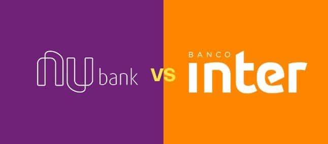 Cartão Inter x Nubank: escolha qual combina mais com suas finanças.