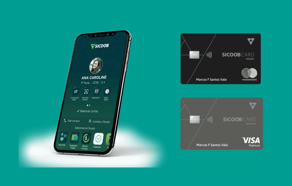 Cartões de crédito Sicoob, um cartão completo
