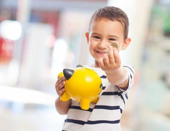 contas bancárias para crianças