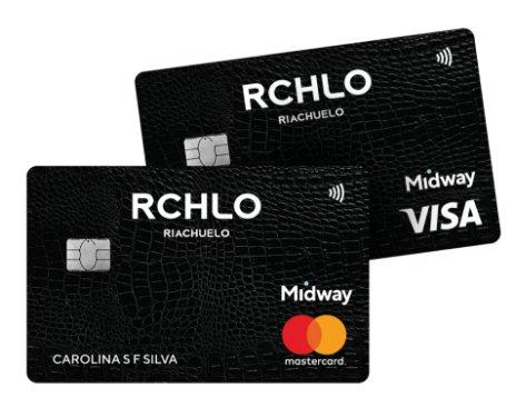 Cartão Riachuelo Mastercard e Visa