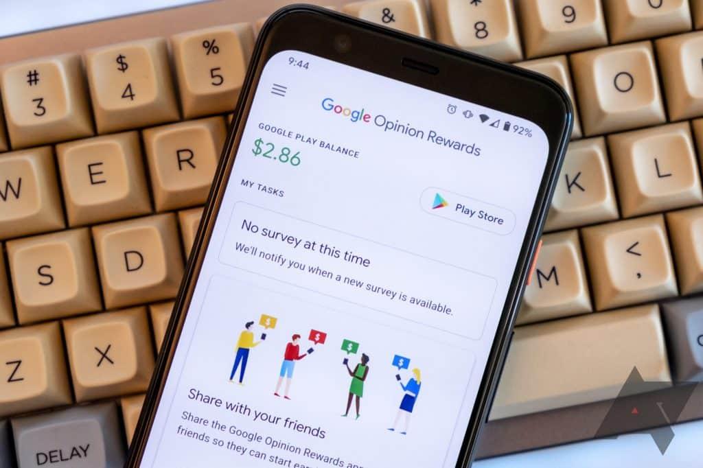 Como ganhar dinheiro respondendo pesquisas do Google Opinion Rewards