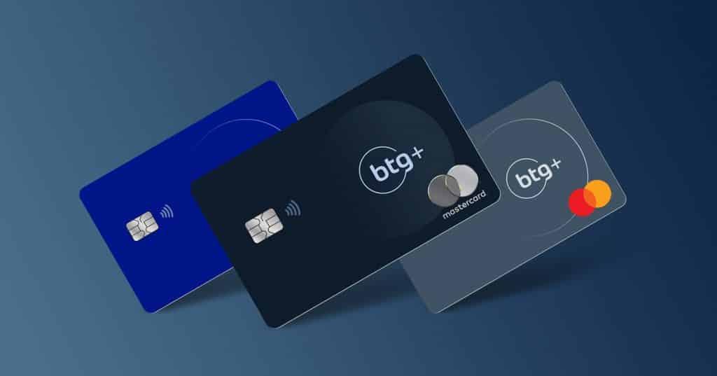 cartões de credito BTG+