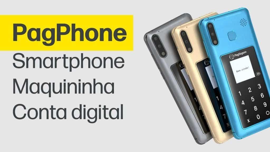 maquininha de cartão PagPhone
