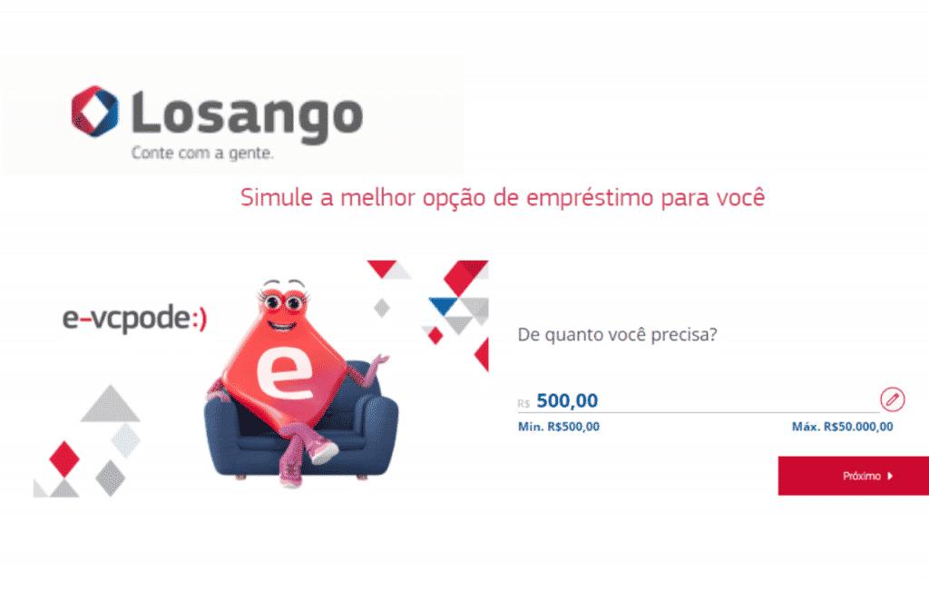 Conheça o Empréstimo Pessoal Losango e confira como fazer a adesão na simulação online. Na Losango você tem empréstimo pessoal e consignado.