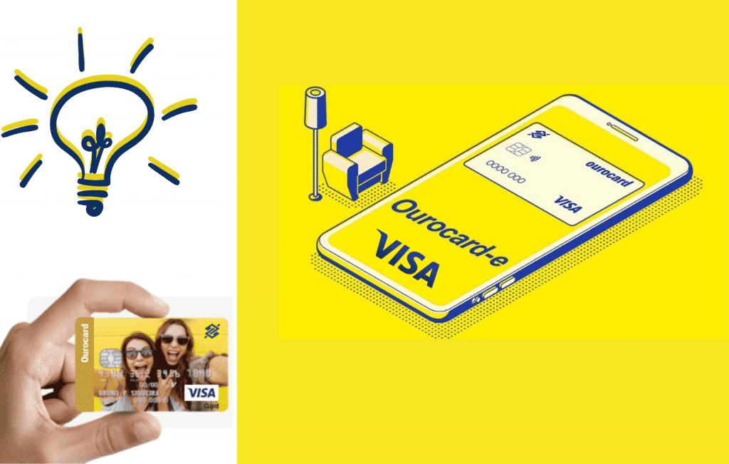 Cartão pré-pago Ourocard do Banco do Brasil que pode ser usado com o cartão mesada com diversos benefícios para pais e filho!