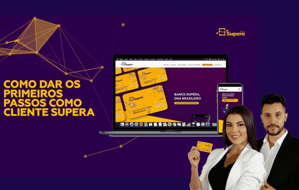 Banco Supera a mais nova instituição bancária com cartão de crédito e conta digital venha abrir uma e conhecer todos os benefícios online.