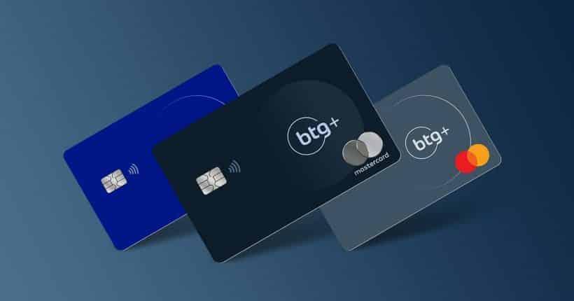 cartão com renda baixa BTG+