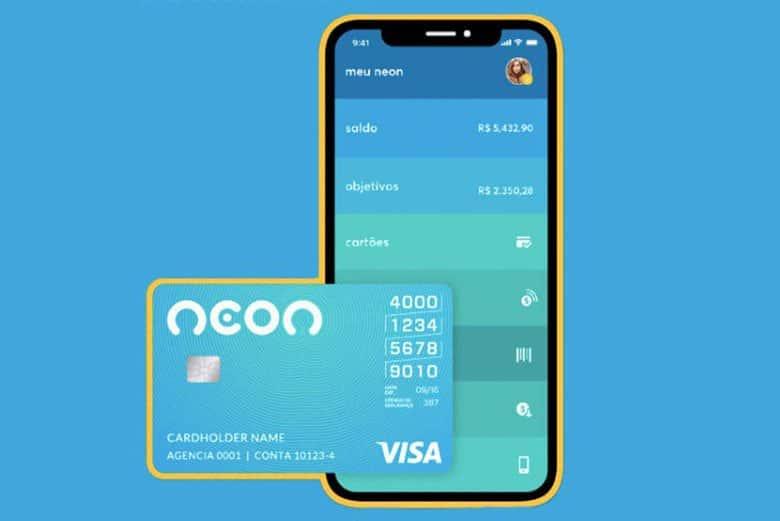 Como pedir cartão de crédito Neon?