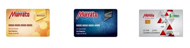 Tipos de cartões Super Muffato