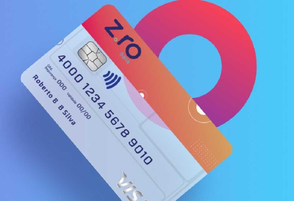 Como funciona o cartão de crédito Zro Bank?