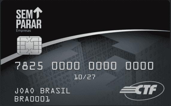 Cartão Sem Parar de combustível empresas tem duas opções de crédito, um para frotas pesadas e para frotas leves.