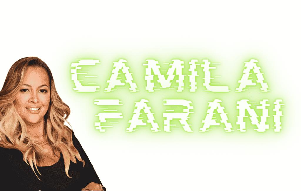Camila Farani tubarão tanque dona de uma fortuna e patrimônio de muita riqueza e grande trabalho.